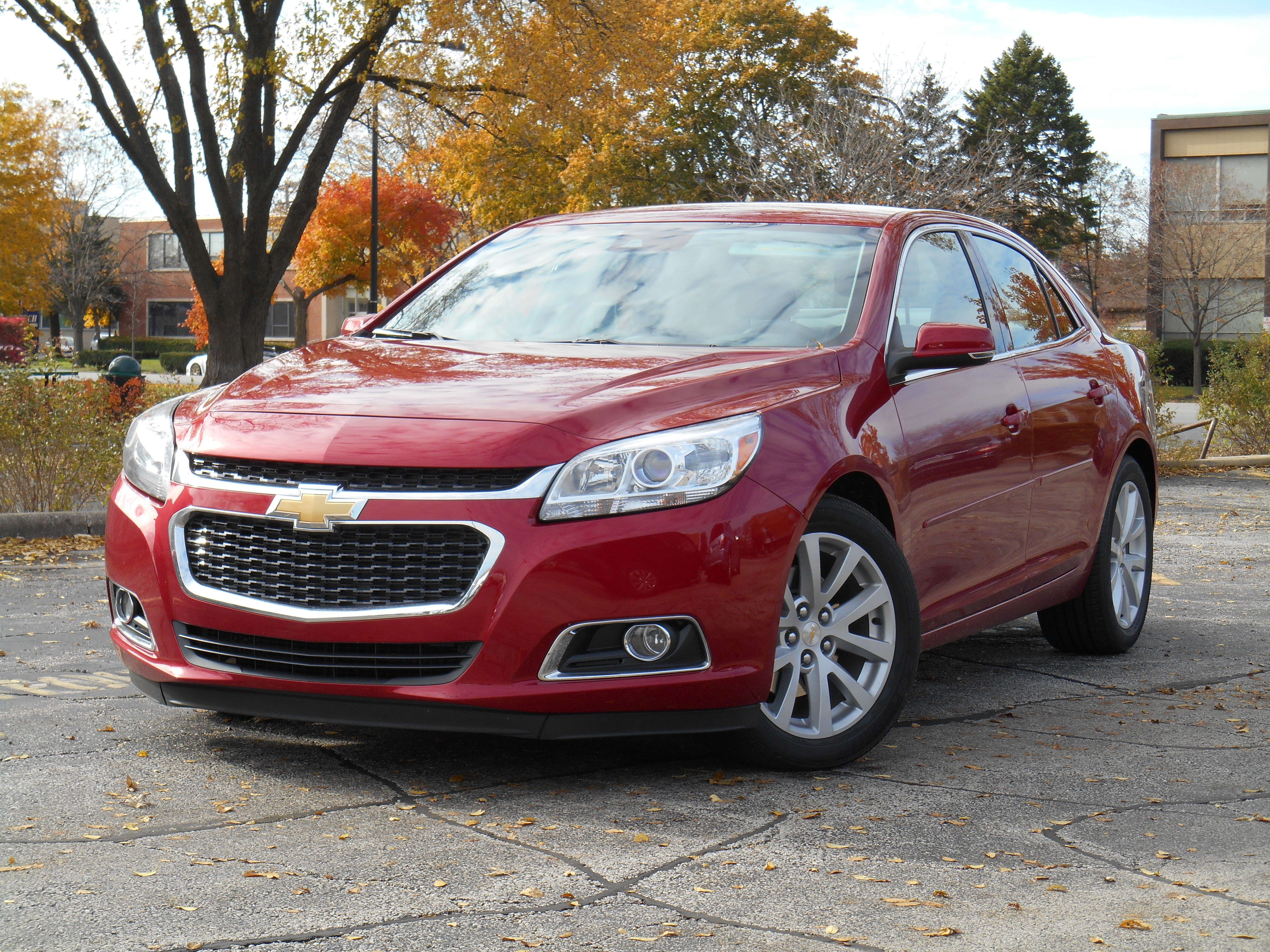 Test Drive 2014 Chevrolet Malibu Turbo The Daily Drive