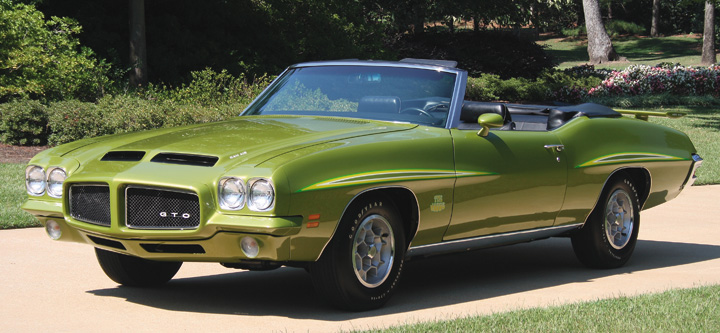 Photo Feature 1971 Pontiac GTO The Judge Convertible  The Daily
