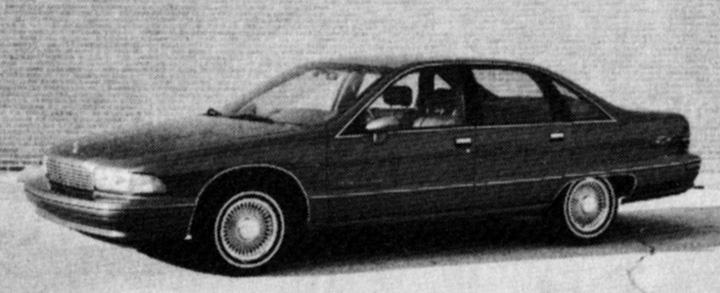 review flashback 1991 chevrolet caprice the daily drive rh blog consumerguide com 1991 Caprice Specs 1991 Chevy Caprice On 24