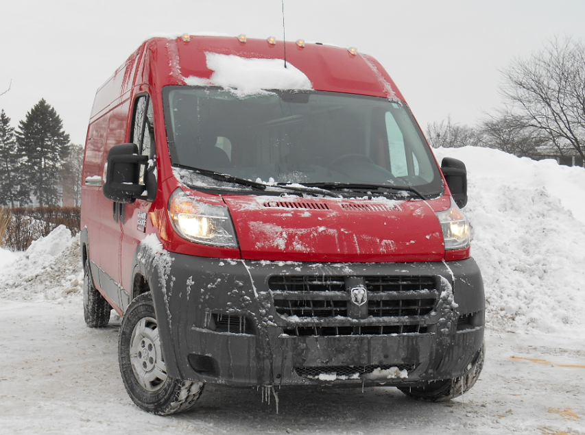 Test Drive 2014 Ram 2500 Promaster Cargo Quot High Roof