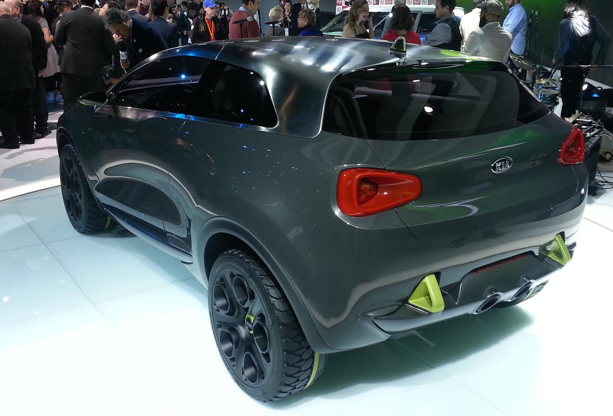 "Kia Niro Concept: The ""Urban Hybrid Vehicle"" 