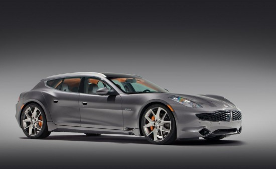 The Fisker Surf Concept was unveiled at the 2011 Frankfort Auto Show.