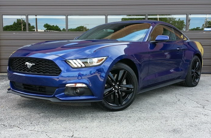 2015 Ford Mustang Coupe, Mustang EcoBoost