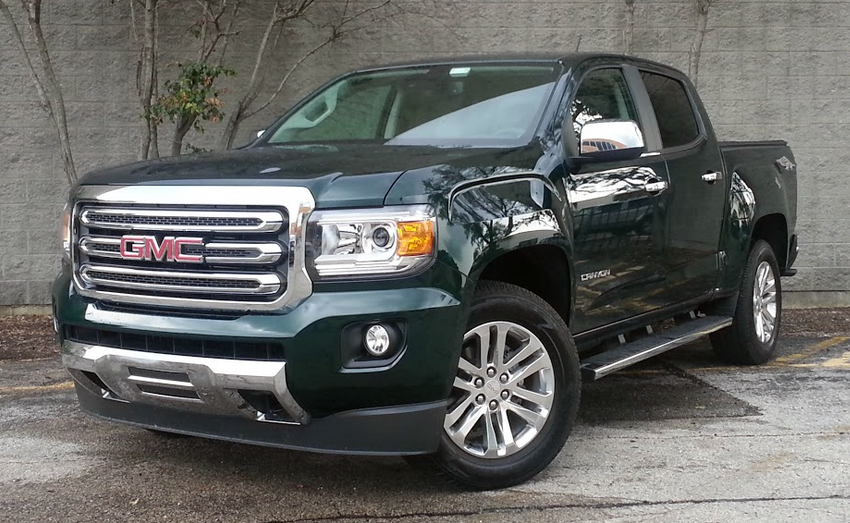 Test Drive: 2015 GMC Canyon SLT | The Daily Drive | Consumer Guide® The Daily Drive | Consumer ...