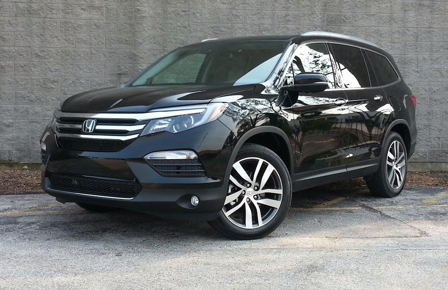 test drive 2016 honda pilot elite the daily drive consumer guide the daily drive. Black Bedroom Furniture Sets. Home Design Ideas