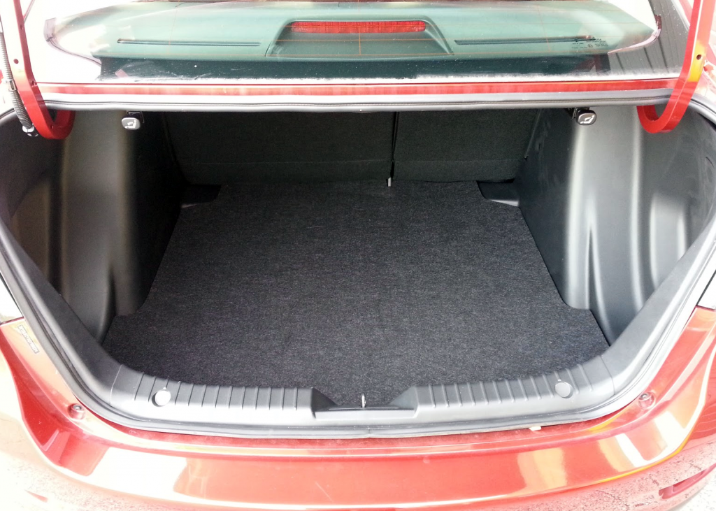 Scion iA trunk