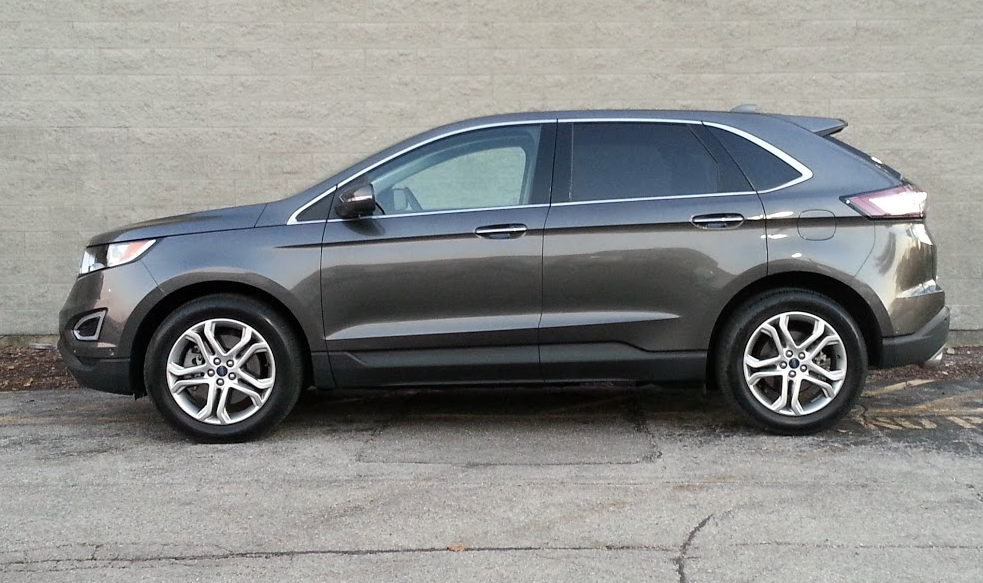 2015 ford edge ford named this no charge color option magnetic
