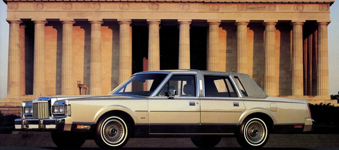 1987 Lincoln Town Car Cartier Edition