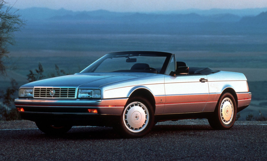 1987 Cadillac Allante, Most-Expensive American Cars of 1987