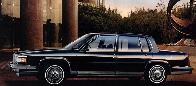 1987 Cadillac Fleetwood Sixty special