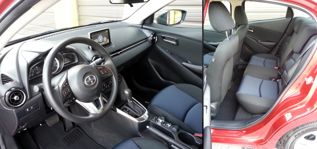 Scion iA interior