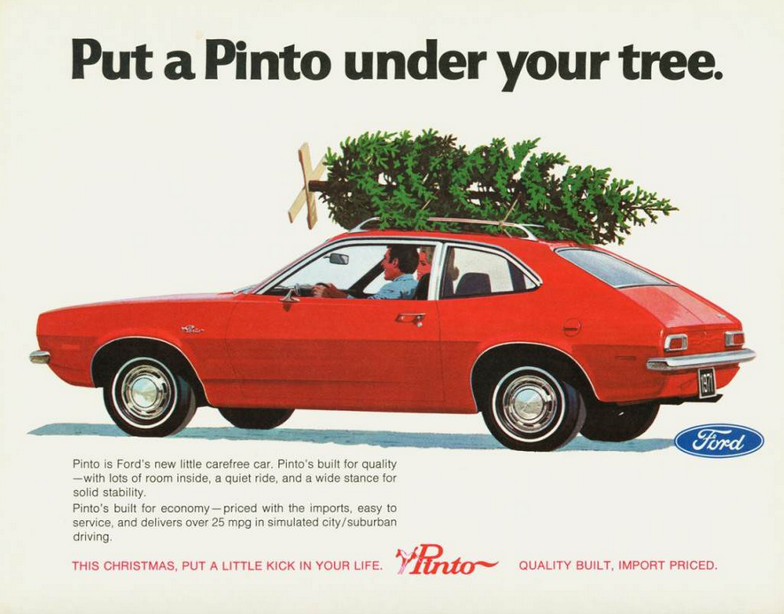 Christmas Madness! 6 Classic Car Ads With A Holiday Theme ...