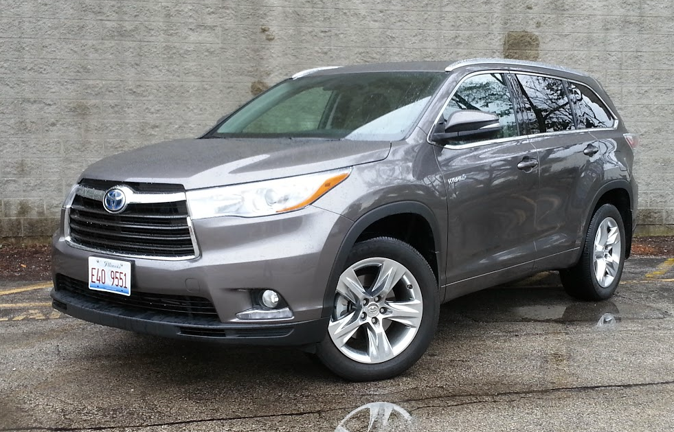 quick spin 2015 toyota highlander hybrid limited the daily drive consumer guide the daily. Black Bedroom Furniture Sets. Home Design Ideas