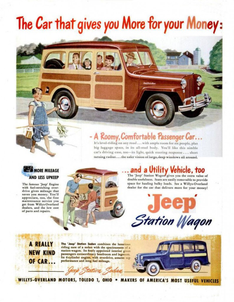 family madness 6 classic car ads featuring the entire. Black Bedroom Furniture Sets. Home Design Ideas