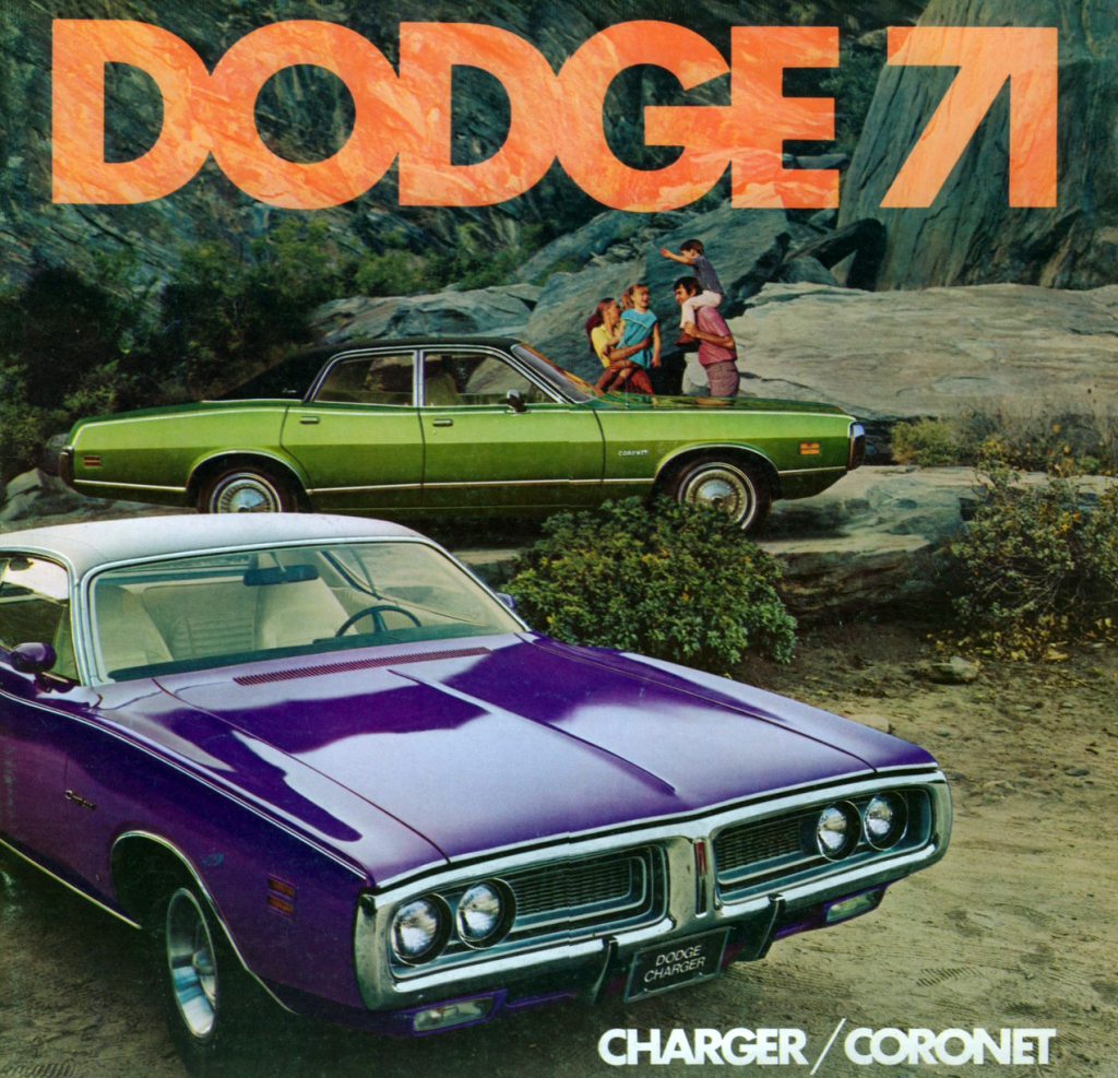 1971 Dodge Brochure, killing Dodge