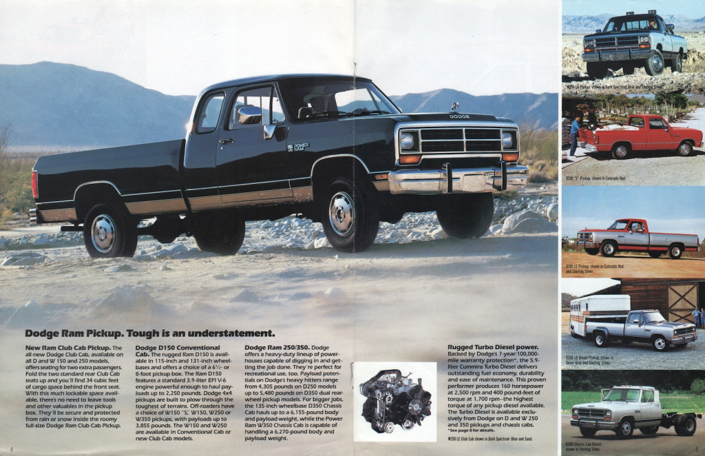 1980 Dodge Pickup Brochure