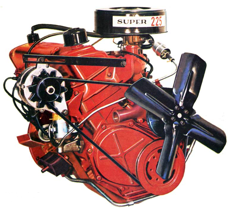 Slant 6 Engine