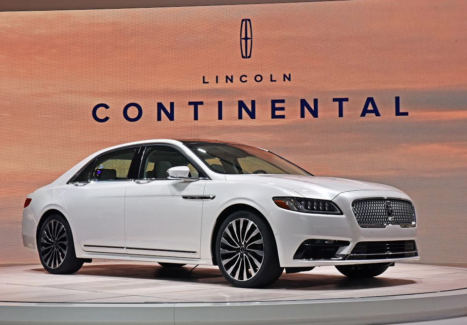 Dateline Detroit: 2017 Lincoln Continental