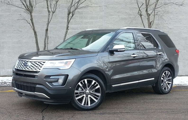test drive 2016 ford explorer platinum the daily drive consumer guide the daily drive. Black Bedroom Furniture Sets. Home Design Ideas