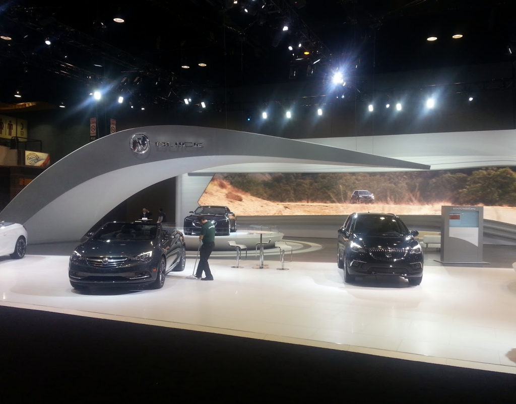 Buick Display at the 2016 Chicago Auto Show