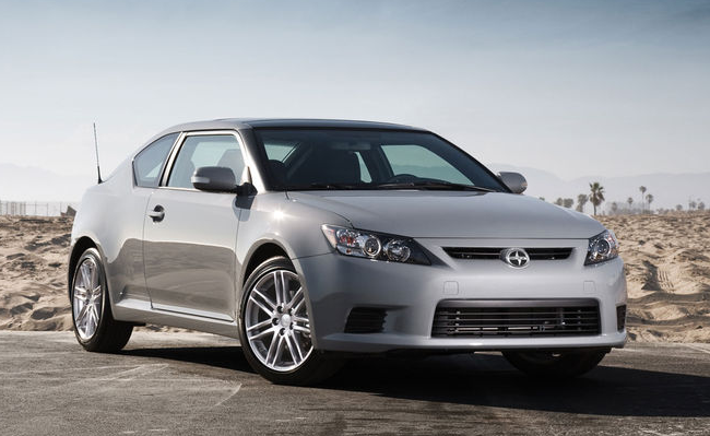 Scion tC, concrete