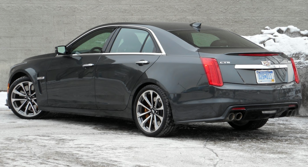 Test Drive 2016 Cadillac Cts V The Daily Drive