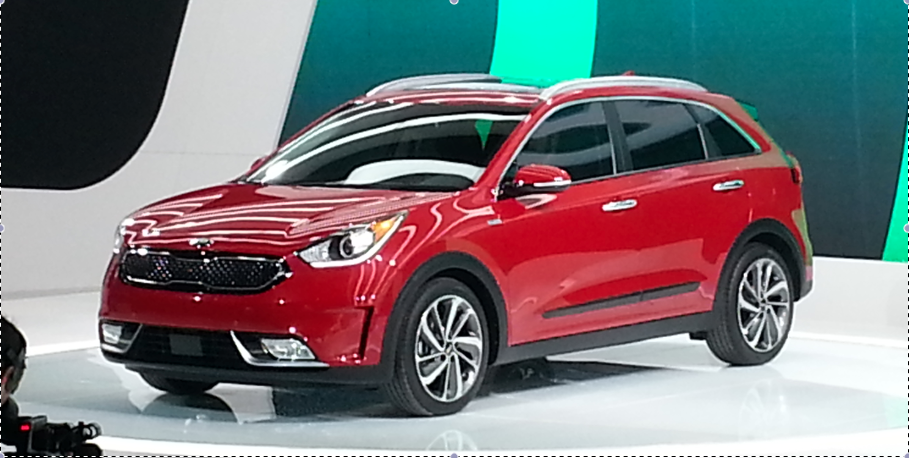 2016 chicago auto show 2017 kia niro hybrid utility vehicle the daily drive consumer guide. Black Bedroom Furniture Sets. Home Design Ideas