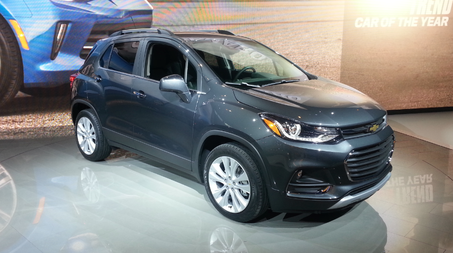 2016 Chicago Auto Show 2017 Chevrolet Trax The Daily Drive