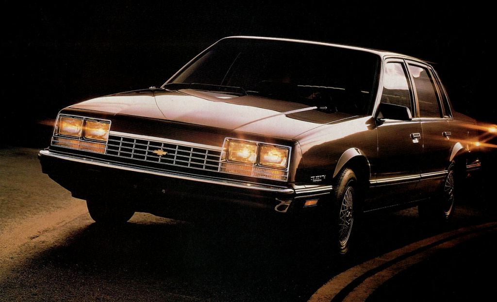 1983 Chevrolet Celebrity, Cars You Never See Anymore