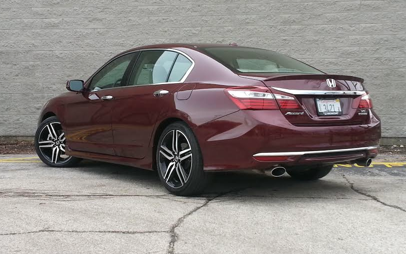 Test Drive 2016 Honda Accord Touring Sedan The Daily
