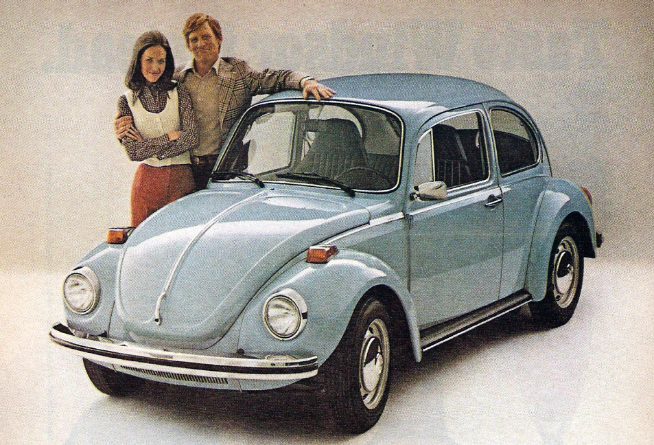 1972 Volkswagen Beetle, Slowest Cars of 1972