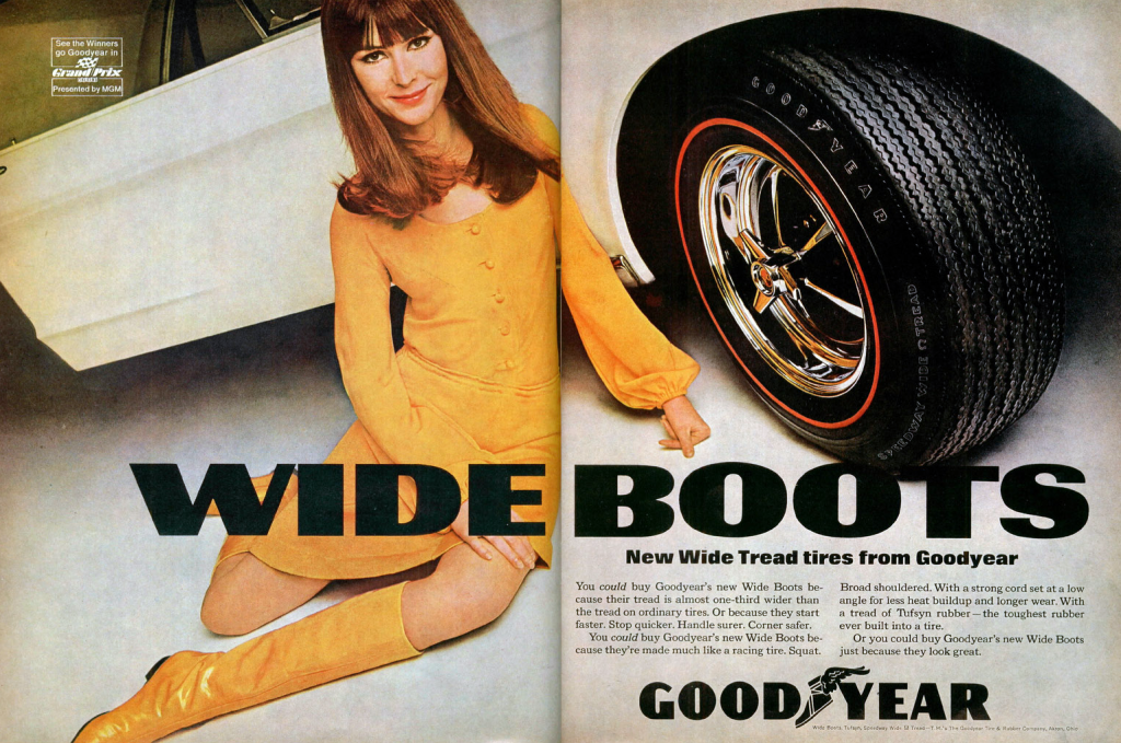 Goodyear Wide Boots ad