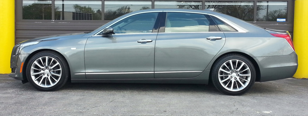 2016 Cadillac CT6 profile