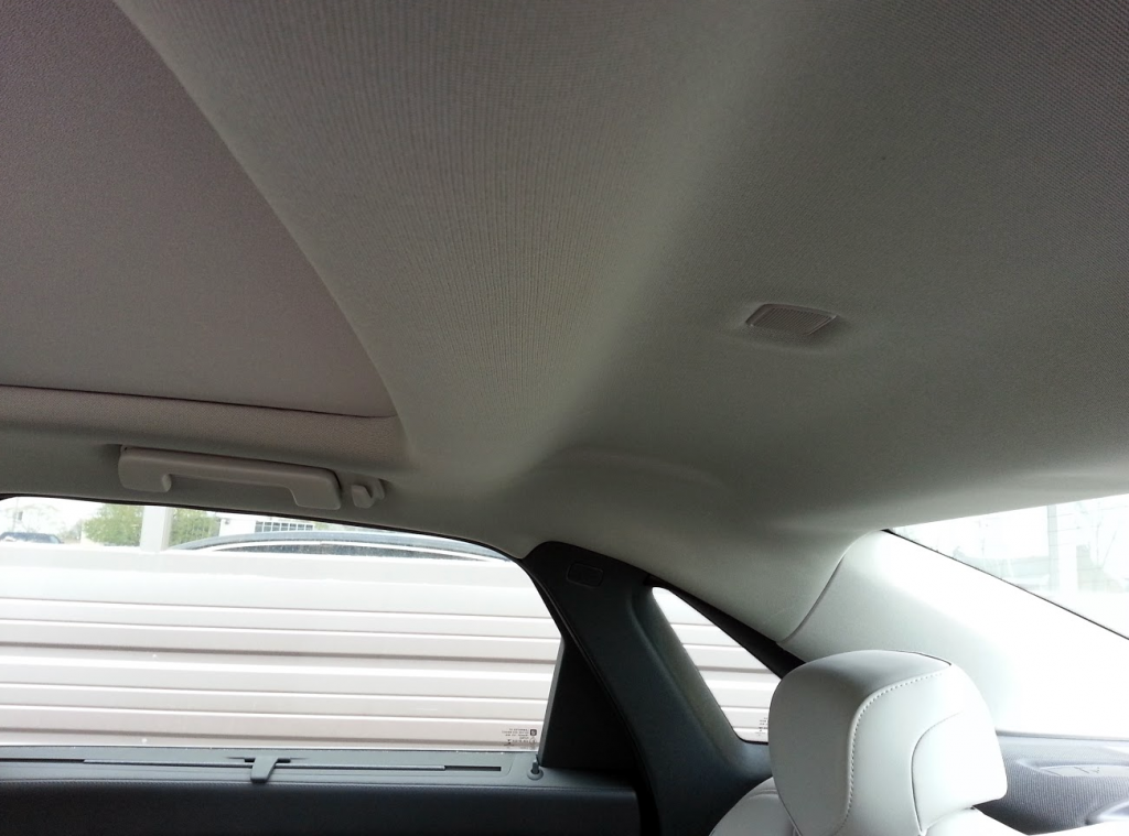 2016 Cadillac CT6 Sunroof and headroom