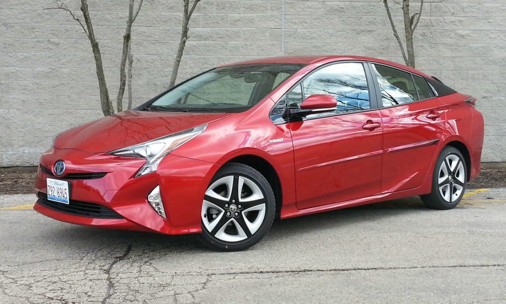 test drive 2016 toyota prius touring the daily drive. Black Bedroom Furniture Sets. Home Design Ideas