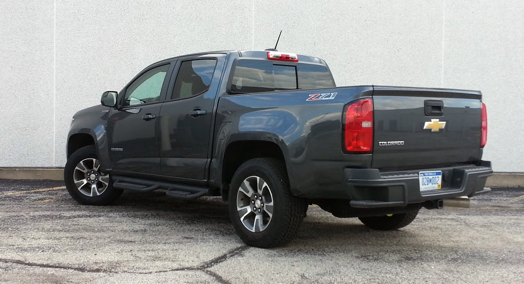 Chevy Colorado Cyber Gray Metallic