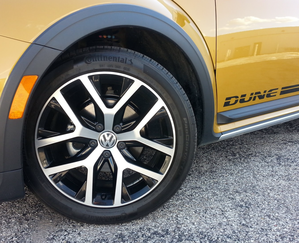 2016 VW Beetle Dune Wheel