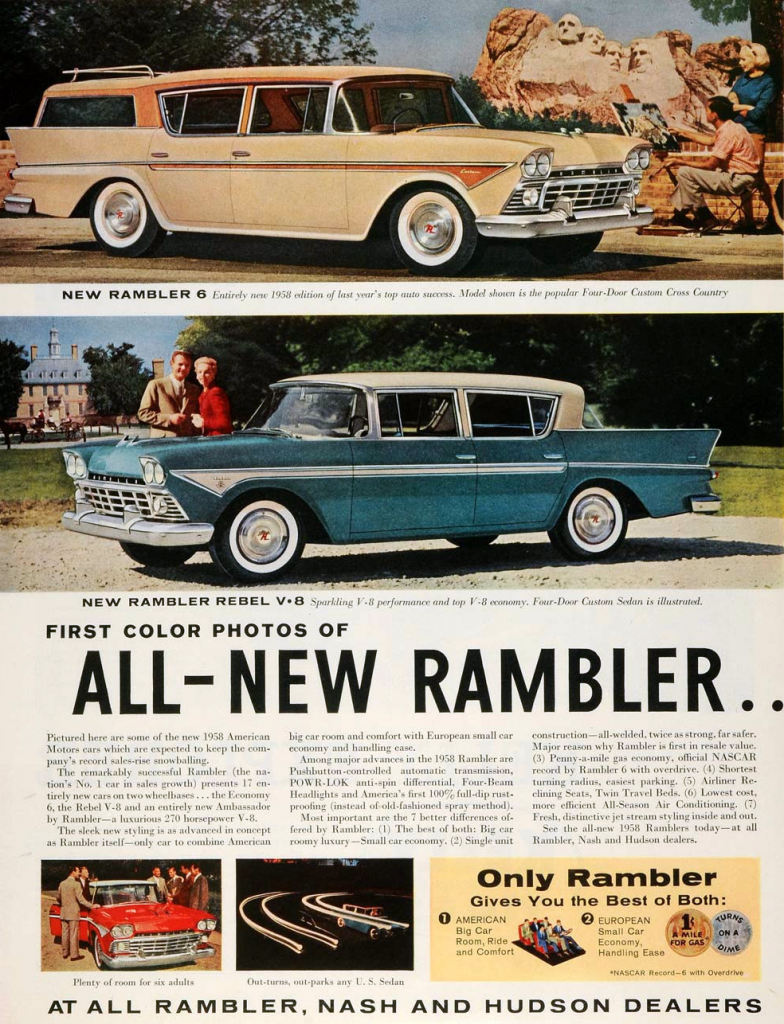 Model Year Madness 10 Classic Ads From 1958 The Daily