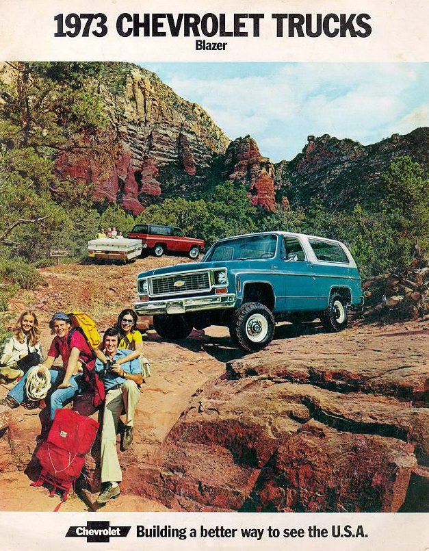 The Chevrolet Brochure Covers Of 1973 The Daily Drive