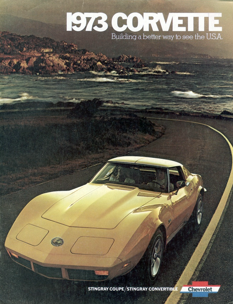 1973 Chevrolet Corvette brochure