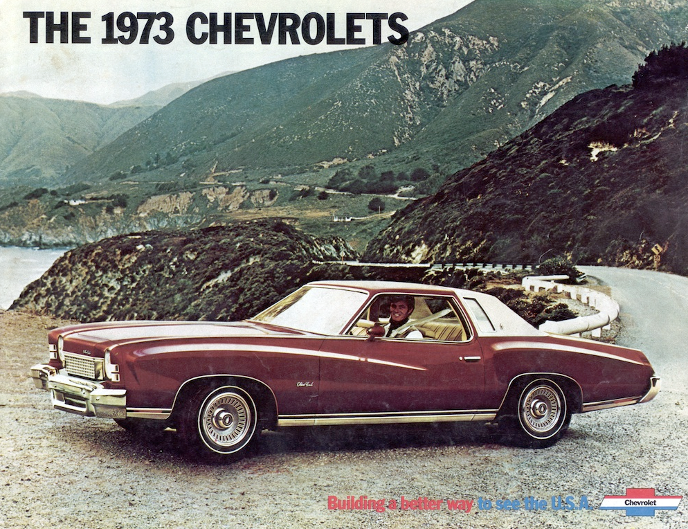 1973 Chevrolet full-line brochure