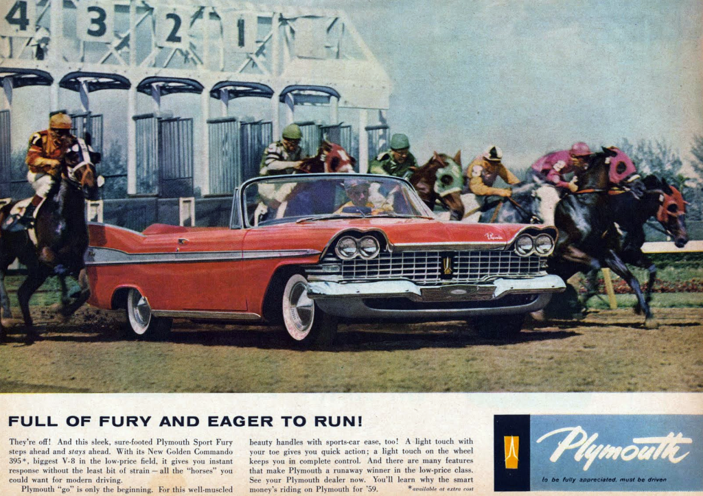 1959 Plymouth ad