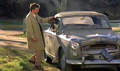 Columbo and his car, Columbo's car