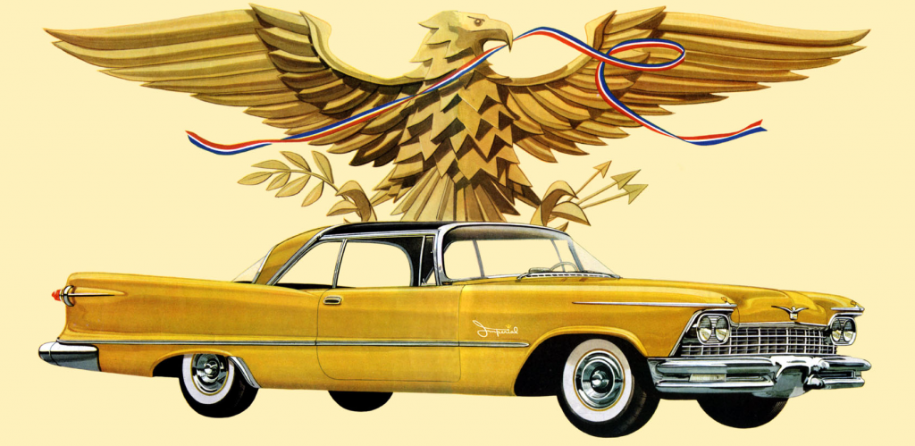 1957 Imperal Ad