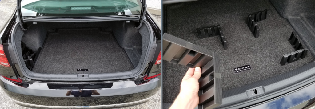 VW Cargo with Monster Mats