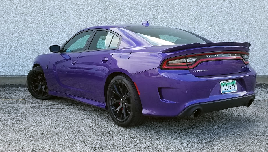 2016 Hellcat SRT Charger, Plum Crazy