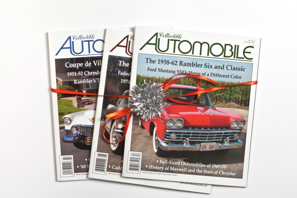 Collectible Automobile Magazine, Car Guy Gift Guide