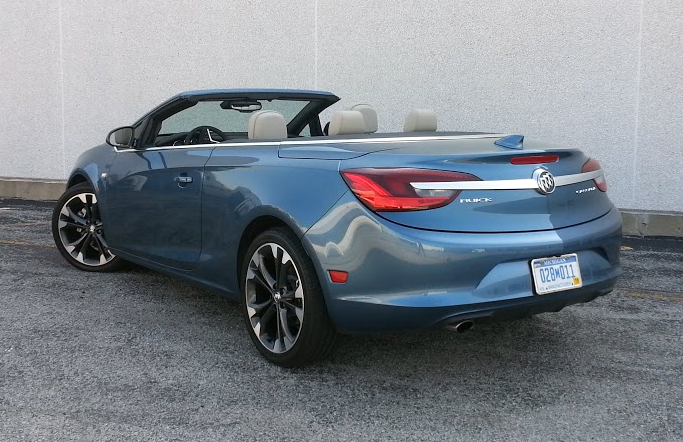 2016 Buick Cascada in Deep Sky Metallic
