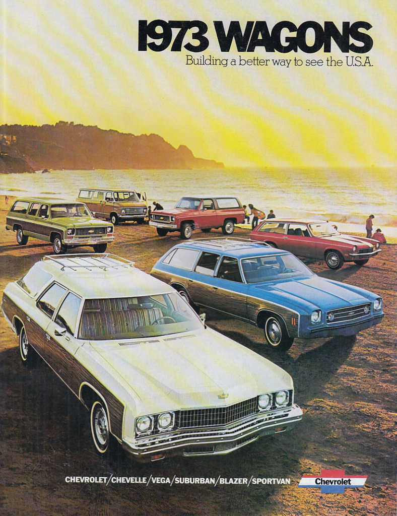 1973 Chevrolet Wagon brochure