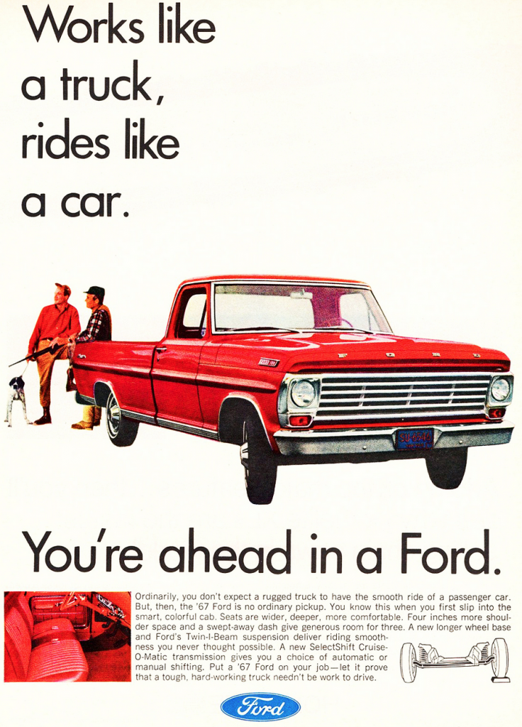 1967 Ford Pickup Ad